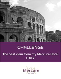 Challenge - The best view from my Mercure Hotel