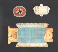 Antique Goldilocks and The Three Bears 1939 Betty Belle Rea | eBay