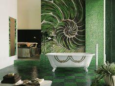Beautiful Mosaic Design Idea For Bathroom