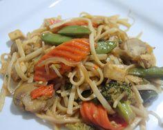 Vegetarian Chow Fun Noodles