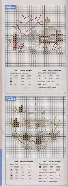 Schema punto croce Idee 467