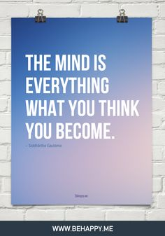 Thoughts become choices. Choices become action. And, action becomes reality. How do you want to live your life?