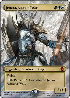 Jenara, Asura of War - Angel