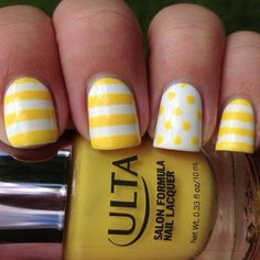 Perfect nails for when spring arrives!