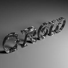 Differential Line Growth on a Mesh. Mesh, Crown, Jewelry, Fashion, Moda, Corona, Jewlery, Jewerly, Fashion Styles