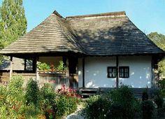 Casa tradițională românească.