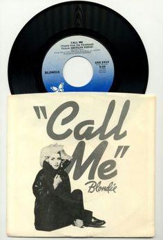 "BLONDIE- CALL ME-USED 45RPM 7"" VINYL SINGLE  http://www.ebay.com/itm/BLONDIE-CALL-ME-USED-45-RPM-7-VINYL-SINGLE-1980-CHRYSALIS-CHR-2414-/201724147101  #blondie #music #45prm #vinylcollection #vinylmornings #ilovevinyl #recordsarefriends #eighties #vinylcommunity #vinyloftheday"