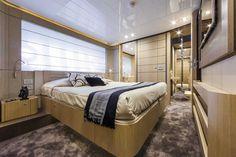 Lower Deck #Design - Ferretti #Yachts 960 on display at the #MiamiBoatShow 2015, 12-16 Feb 2015. #luxury #ferretti #yacht #MadeInItaly #Mybs2015
