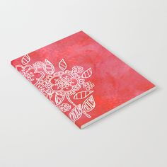 Pink flowers Notebook by seelas Journal Entries, Wraparound, Get One, Handicraft, Pink Flowers, Notebooks, Minimal, About Me Blog, Doodles