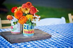Hostess with the Mostess® - Summer Farmer's Market BBQ Birthday Birthday Bbq, 1st Birthday Themes, 70th Birthday Parties, Birthday Ideas, Summer Backyard Parties, Outdoor Parties, Picnic Bridal Showers, Margarita Party, Zen