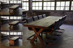 Een Room108 tafel is verkrijgbaar in 7 standaard afmetingen van 180 cm tot 300 cm. Naast deze basis uitvoeringen is in overleg ook individueel maatwerk (=meerprijs) mogelijk. | Room108