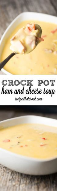 Crock Pot Ham and Ch
