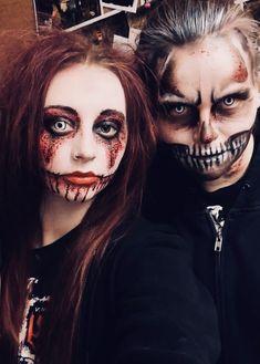 Fear Factory, Halloween Face Makeup