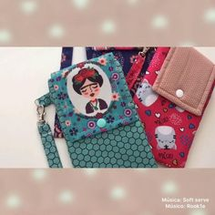 Small Sewing Projects, Sewing Projects For Beginners, Sewing Tutorials, Diy Bags Purses, Diy Purse, Pochette Portable Couture, Diy Bags No Sew, Sew Wallet, Cute Wallets