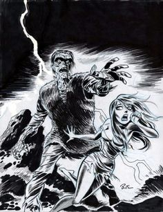 Frankenstein by Bruce Timm