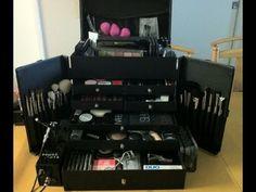 Japonesque Pro Studio Case: Professional Makeup Kit and Essentials