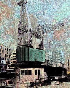 'Altes Kranschiff' von Peter Norden bei artflakes.com als Poster oder Kunstdruck $18.02
