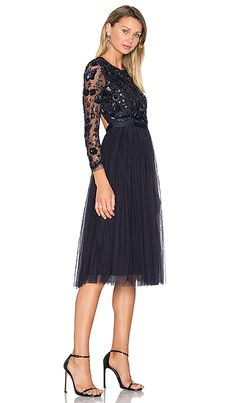 01b62714934288 Shop for Needle   Thread Embellished Butterfly Dress in Midnight at  REVOLVE. Free day shipping and returns