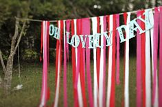 whimsical wedding reception decor ribbon backdrop wedding DIY red pink 2 Styles, and Reception, Wedding Projects, Whimsical Wedding, Trendy Wedding, Ribbon Backdrop, Ribbon Wall, Paper Backdrop, Wedding Reception Backdrop, Wedding Stage, Photo Booth Backdrop, Diy Hanging