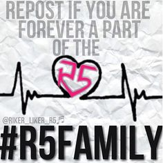 I LOVE this edit <3 #R5FAMILYFOREVER i can say yeas true will i know will true r5 a part true i know