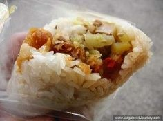 Authentic Fan Tuan Sticky Rice Roll
