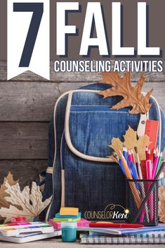 Fall Counseling Activities: Seasonal Activities for School Counseling - Keri Powers Pye, Counselor Keri - art therapy activities Coping Skills Activities, Kindness Activities, Small Group Activities, Counseling Activities, Art Therapy Activities, Elementary School Counselor, School Counseling, Group Counseling, Elementary Schools