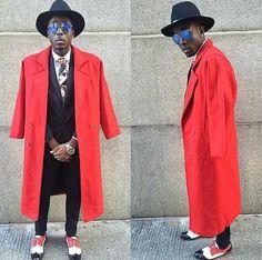Men's African neck tie | Feature Friday | @_lickmyfashion_ | Love Lakeri | Toronto, Ontario | Kampala, Uganda