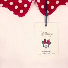 Lauren Conrad's Minnie Mouse Collection