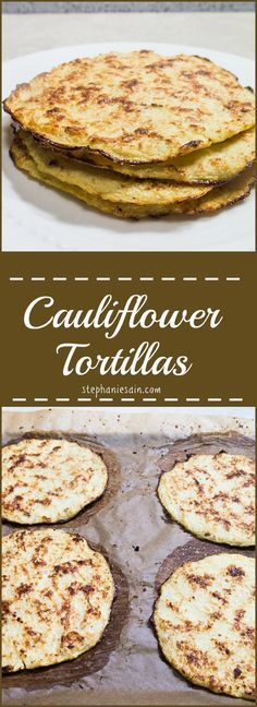 Cauliflower Tortillas are a tasty, healthy, lower carb option for tortillas…