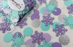 Winter Onederland Snowflake Confetti Ice Princess Confetti | Etsy