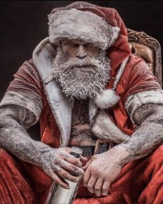 Happy Christmas to all our customers, friends and family 🎄🥂🎉☘️ We will be back Friday for all your tattoos and piercings needs ! Dark Christmas, Christmas Mood, Santa Christmas, Xmas, Holiday, Magic Santa, Naughty Santa, Santa Claws, Art Of Manliness