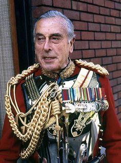 Lord Mountbatten by Allan Warren
