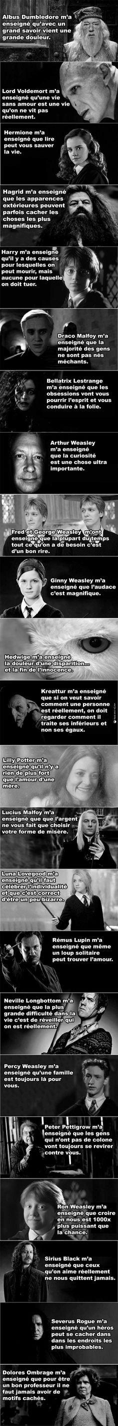Tout ce qu'Harry Potter m'a enseigné