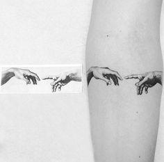 @ krisyuka # theartoftattoos - tatuagens B. Dna Tattoo, God Tattoos, Sternum Tattoo, Mini Tattoos, Piercing Tattoo, Future Tattoos, Body Art Tattoos, Small Tattoos, Tattoos For Guys