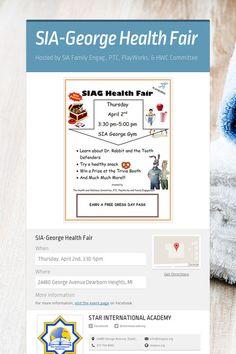 SIA-George Health Fair