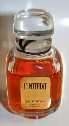 L'interdit by Givenchy, Audrey Hepburn's Signature Perfume made just for her
