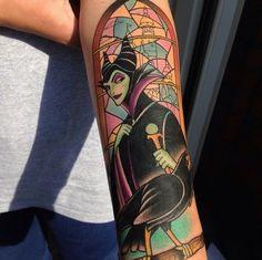 disney tattoos maleficent