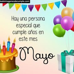 ✅Imágenes de cumpleaños mes de Mayo para descargar gratis Mayo, Home Decor, Birth Month, Birthday Table, Writing Activities, Birthday Images, Free Downloads, November, Room Decor
