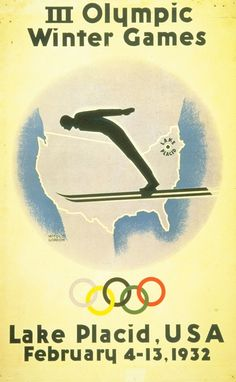 winter olympic posters