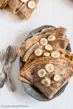 Simple cinnamon sugar hazelnut crepes. Lightly sweet and nutty. These hazelnut crepes are perfect for stuffing with chocolate and fruit. with hazelnut flour and ap flour.