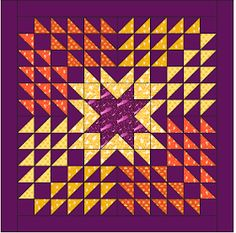 Star quilts (part Free Paper Piecing Patterns, Quilting Stitch Patterns, Star Quilt Patterns, Quilting Designs, Star Quilt Blocks, Star Quilts, Quilting Projects, Quilting Ideas, Quilting Tutorials