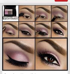 Makeup Ideas For Prom - Purple Smoky Eye Makeup - These Are The Best Makeup Ideas For Prom and Homecoming For Women With Blue Eyes, Brown Eyes, or Green Eyes. These Step By Step Makeup Ideas Include Natural and Glitter Eyeshadows and Go Great With Gold, Silver, Yellow, And Pink Dresses. Try These And Our Step By Step Tutorials With Red Lipsticks and Unique Contouring To Help Blondes and Brunettes Get That Vintage Look. - thegoddess.com/makeup-ideas-prom