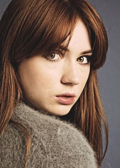 Click image to close this window Bright Red Hair, Blue Hair, Karen Gillan Doctor Who, Karen Gilan, Karen Sheila Gillan, Red Hair Woman, Bionic Woman, Rory Williams, Amy Pond