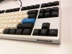 White carbon fiber filco, EVE DSA keyset. (j0j0r0)
