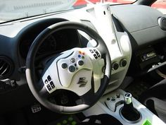 XBOX 360 car?! Not safe, but that doesn't mean I don't want one!!!