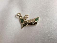 Cute Sterling Silver 925 Marcasite Blue Enamel Angel Wings Slide Pendant Charm | eBay