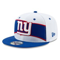 New York Giants New Era Thanksgiving Snapback Adjustable Hat White Royal 12b496234f86