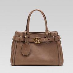 Gucci 247183 Al70t 2814 Gg Running'Medium Tote mit GG-Detail Gucci Damen Handtaschen