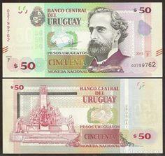 URUGUAY. 50 PESOS 2015. S/C. CON MARCA PARA CIEGOS. (Numismática - Notafilia - Billetes Extranjeros)