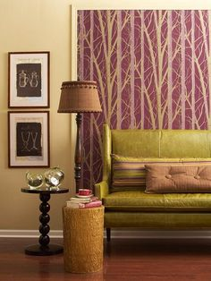modern interior design, home decorating and staging home interiors with color